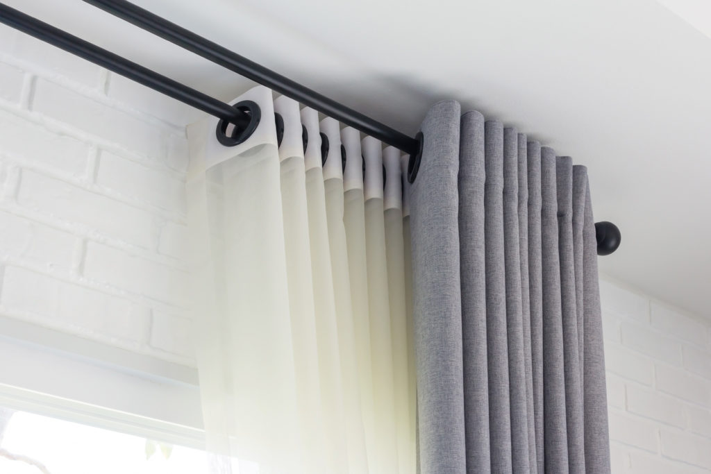 Curtain Rods Selection A Fit For Every, How To Select Curtain Rod Size
